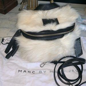 Marc Jacobs real fur bag